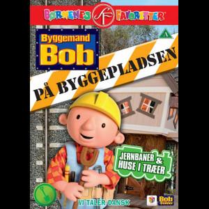 Byggemand Bob På Byggepladsen: Jernbaner & Huse I Træer