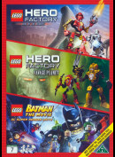LEGO: Rise Of The Rookies + Savage Planet + Batman The Movie (3 film)