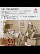 c1690 Mendelssohn: Andreas Staier, Rainer Kussmaul, Concerto Köln: Concertos in A Minor and D Minor