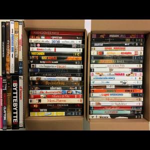 Pakke Nr. 303 Med 50 Blandede DVD Film (Se på billedet præcis hvilke)