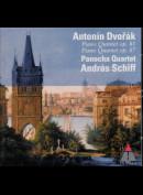 c2106 Panocha Quartet, Andras Schiff - Antonín Dvorak: Piano Quintet Op. 81, Piano Quartet Op. 87