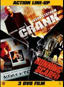 Action Line-up Boks (3 Film: Bl.a. Crank...)