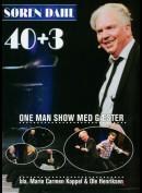 Søren Dahl: 40+3 - One Man Show Med Gæster