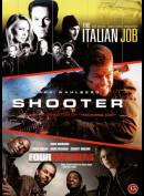 Mark Wahlberg Action Box (3 Film: Bl.a. The Italian Job...)
