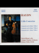 c3274 Haydn: Maria Kliegel, Cologne Chamber Orchestra, Helmut Müller-Brühl: Cello Concertos