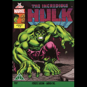 The Incredible Hulk: Sæson 1 - Del 2 (Marvel)