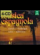 c4124 Musica Espagnola 4-disc