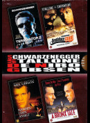 Schwarzenegger: Stallone, De Niro, Gibsen (Boks  4-disc)
