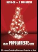 Musik-CD: Julens Populæreste Sange (Musik-CD + 8 Sanghæfter)