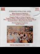 c5178 Johann Strauss Jr., André Lenerd, Strauss Festival Orchestra: Most Famous Waltzes