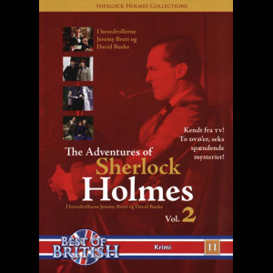 The Adventures Of Sherlock Holmes Vol. 2  -  2 Disc
