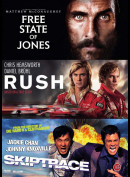 The Free State Of Jones + Rush + Skiptrace  -  3 disc