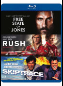 The Free State Of Jones + Rush + Skiptrace  -  3 disc