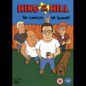 -5953 King Of The Hill: Sæson 2  -  3 disc (KUN ENGELSKE UNDERTEKSTER)