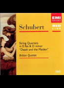 """c5979 Schubert: String Quartets In E Flats & D Minor """"Death And The Maiden"""""""