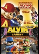 Alvin Og De Frække Jordegern 2 + Alvin Og De Frække Jordegern (2 Disc)