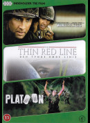 Windtalkers + The Thin Red Line + Platoon  -  3 Disc
