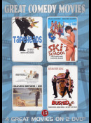 Great Comedy Movies (4 Film bl.a. Tapeheads m.fl.)