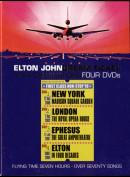 Elton John Dream Ticket Four Destinations Four DVDs
