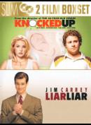 Knocked Up + Liar Liar  -  2 disc