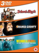 School Of Rock + Orange County + Without A Paddle  -  3 disc