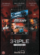 3riple Movies (Triple Movies) (3 Film Bl.a. Belly Of The Beast)