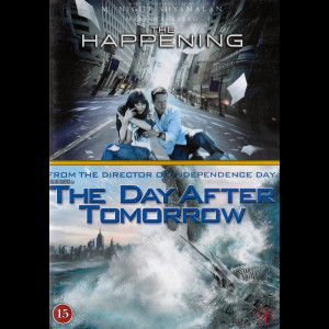 The Happening + The Day After Tomorrow  -  2 disc