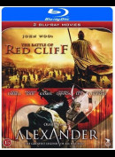The Battle Of Red Cliff + Alexander  -  2 disc