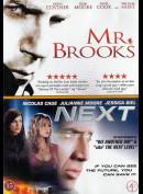 Mr. Brooks + Next  -  2 disc