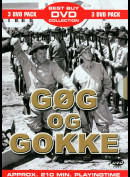 Gøg Og Gokke Boks  -  3 disc