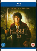 Hobbitten: En Uventet Rejse (Blu-Ray + Blu-Ray 3D) (The Hobbit: An Unexpected Journey)