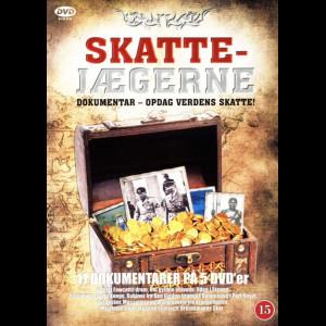 Skatte Jægerne  -  5 disc (Treasure Hunters)