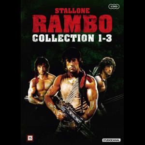 Rambo Trilogy Boks  -  3 disc