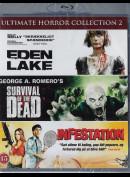 Ultimate Horror Col. 2: Eden Lake + Survival Of The Dead + Infestation  -  3 disc