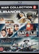 War Collection 2: Libanon + Battle Under Orion + Slaget Ved Passendale  -  3 disc