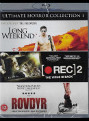 Ultimate Horror Collection 1: Long Weekend + Rec 2 + Rovdyr
