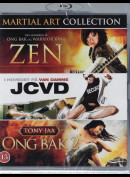 The Martial Arts Collection  -  3 disc