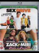 Sex Drive + Zack And Miri Make A Porno  -  2 disc