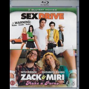 Sex Drive + Zack And Miri Make A Porno  -  2 disc