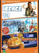 ICE AGE/Robotter/Garfield - The Movie