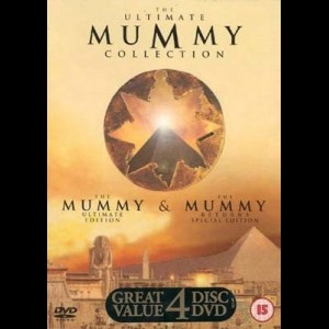 The Mummy  -  4 disc Deluxe Edition (Mumien)