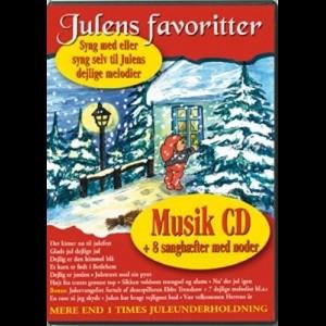 Julens Favoritter (Music CD) (INGEN DVD)
