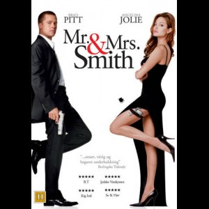 Mr. & Mrs. Smith + I Dine Sko  -  2 disc