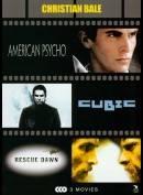 American Psycho + Cubic + Rescue Dawn