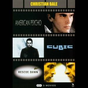 Christian Bale: American Psycho + Cubic + Rescue Dawn  -  3 disc