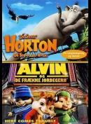 Dr. Seuss: Horton og støvfolket Hvem + Alvin Og De Frække Jordegern