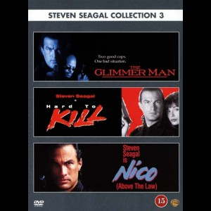 Steven Seagal Collection: Volume 3   -   3 disc