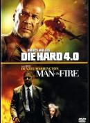 Die Hard 4.0 + Man On Fire  -  2 disc
