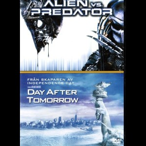 Alien Vs Predator + The Day After Tomorrow  -  2 disc