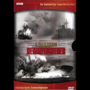 2. Verdenskrigs Hemmeligheder: De Hemmelige Angrebsstyrker + Ubådskrigens Hemmeligheder